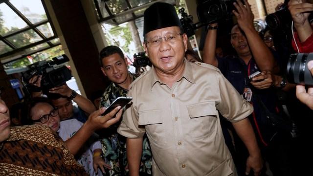 Prabowo: NU Minta Kami Fokus pada Masalah Ekonomi (383600)