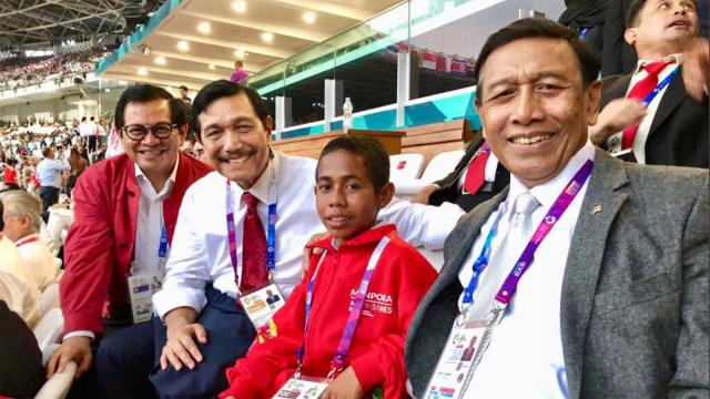 Joni Bersama Menteri, Panglima TNI dan Kapolri