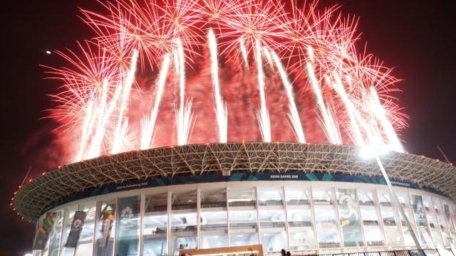 Kembang Api Pembukaan Asian Games 2018