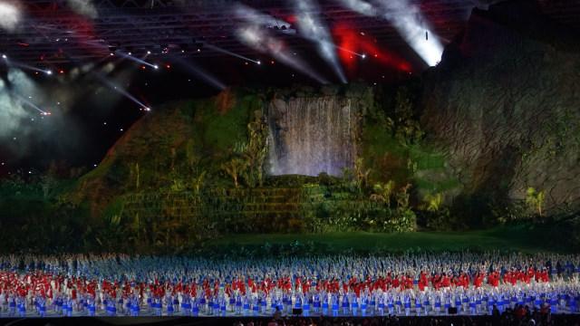 Empat Elemen Opening Ceremony Asian Games 2018, Mana Favorit Anda? (8771)