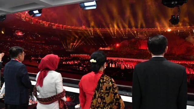 Empat Elemen Opening Ceremony Asian Games 2018, Mana Favorit Anda? (8773)