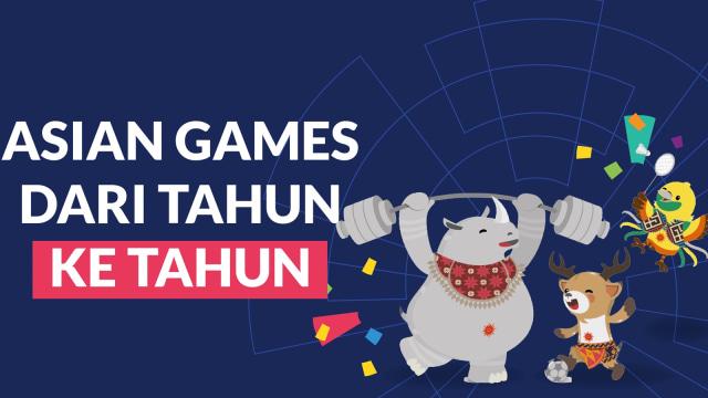 Infografik: Asian Games dari Masa ke Masa (63435)