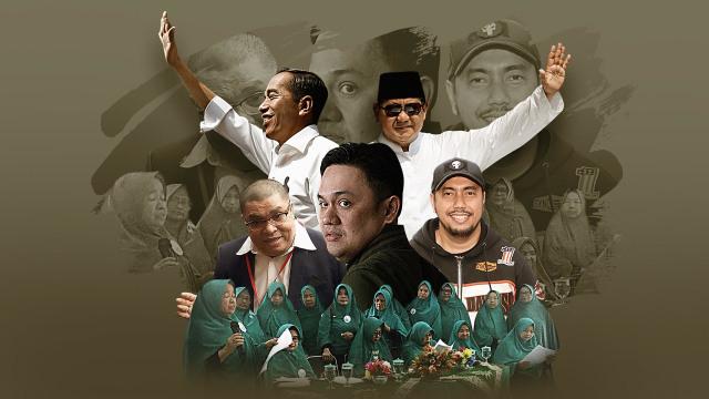 Riuh Perang Jubir Jokowi vs Prabowo (30206)