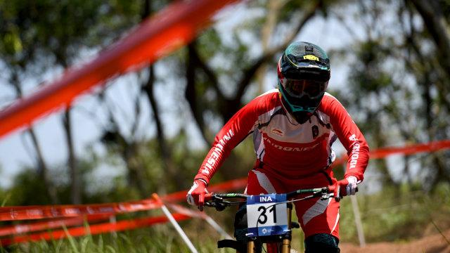 Atlet Balap Sepeda Indonesia, Tiara Andini Prastika, Asian Games 2018