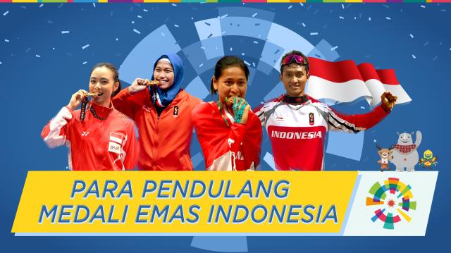 Para Pendulang Medali Emas Indonesia di Asian Games 2018 (212191)