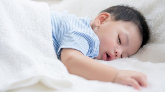 Penyebab Anak Balita Mendengkur saat Tidur (150603)
