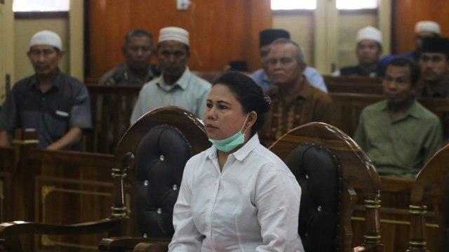 Terdakwa kasus penistaan agama, Meliana, Pengadilan Negeri Medan, Sumatera Utara