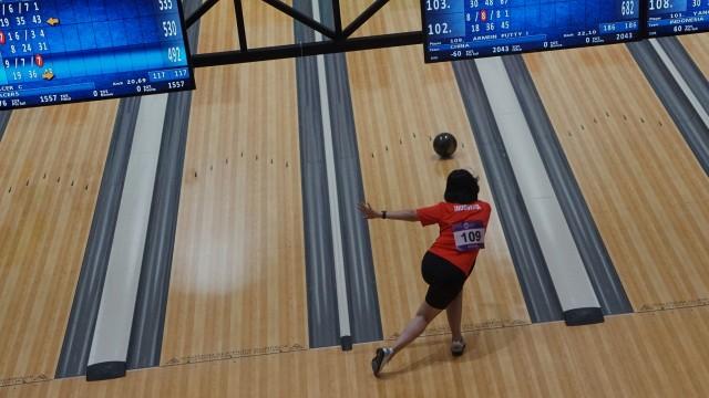 Bowling, Asian Games, Putri, Fanny Kusumawardhani