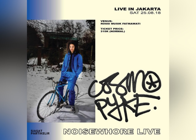Cosmo Pyke Live in Jakarta