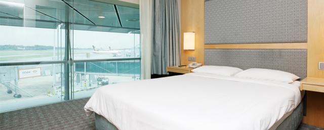 Salah Satu Hotel di Changi International Airport