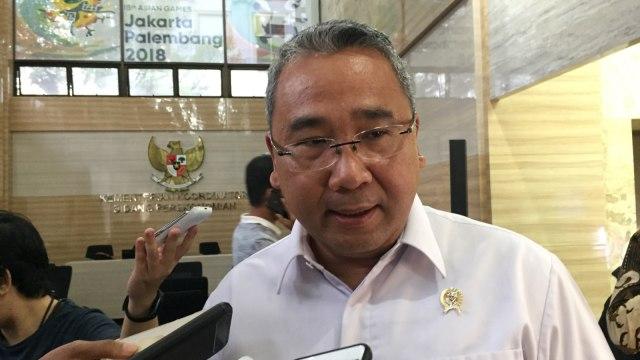 Menteri Desa, Pembangunan Daerah Tertinggal, dan Transmigrasi Eko Putro Sandjojo