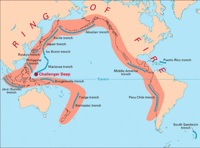Wilayah Cincin Api Pasifik