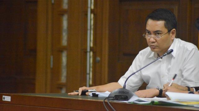 Sidang kasus korupsi terdakwa Fayakhun Andriadi, Jakarta