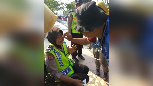 Klarifikasi Polda Jatim soal Kambing dan Banteng #2019GantiPresiden (96440)