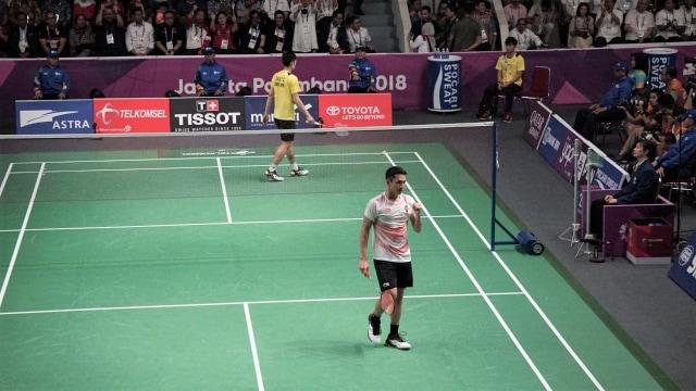Atlet bulutangkis Indonesia, Jonatan Christie, Final Tunggal Putra, Asian Games 2018, Jakarta