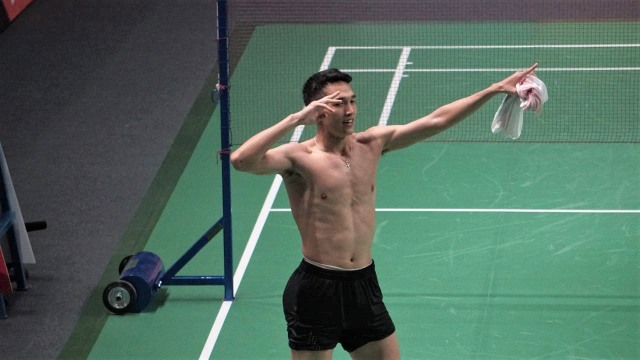Atlet bulutangkis Indonesia, Jonatan Christie, Tunggal Putra Bulu Tangkis, Asian Games
