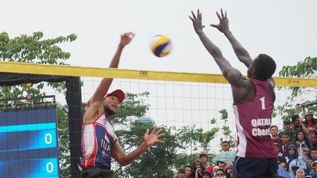 Atlet voli pantai putra Indonesia, Mohammad Ashfiya dan Ade Candra, Medali Perak, Asian Games 2018, Palembang