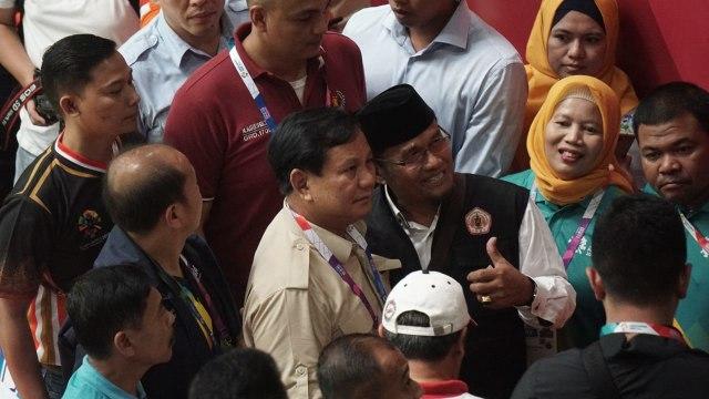 Prabowo Subianto, Asian games 2018