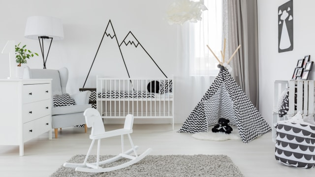 Ilustrasi kamar bayi