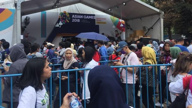 Layanan Pre Order Boneka Maskot Asian Games Diundur, Antrean Mengular (75292)