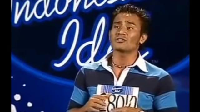 Judika saat audisi Indonesian Idol
