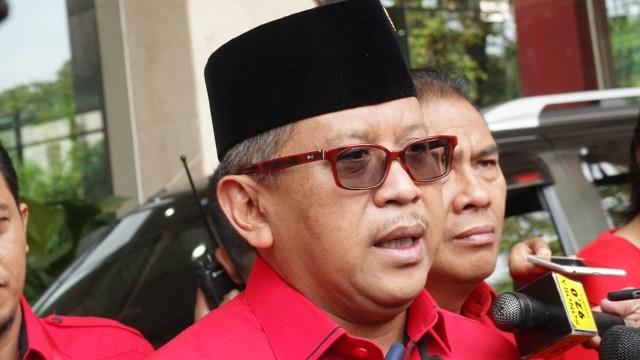 Sekjen PDIP, Hasto Kristiyanto di DPP PDIP