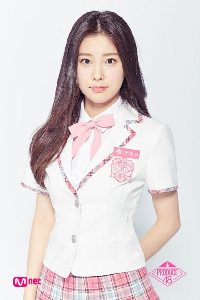 Potret 12 Member IZ*ONE, Girl Group Jebolan Produce 48 (111013)