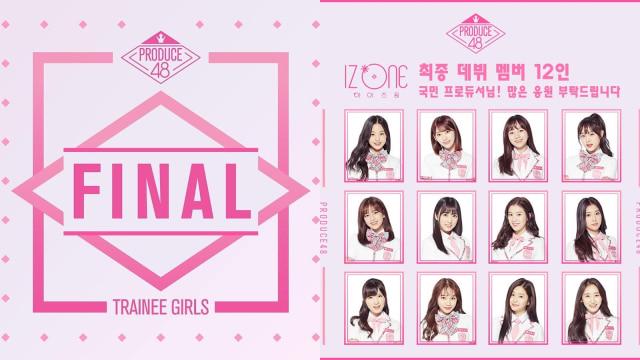 Potret 12 Member IZ*ONE, Girl Group Jebolan Produce 48 (111005)