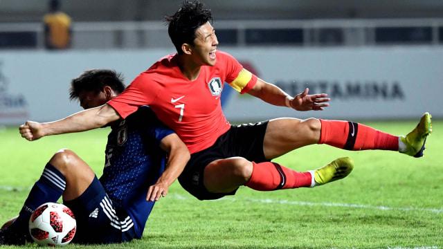 Korea Selatan vs Jepang