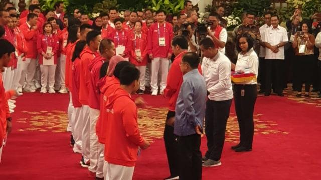 Atlet peraih medali Asian Games di Istana