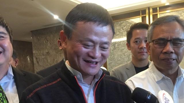 Jack Ma di Ritz Carlton Jakarta