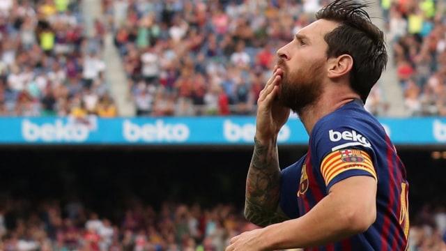 Ingat! Hari Ini, 16 Tahun Lalu, Lionel Messi Debut buat Barcelona (30003)