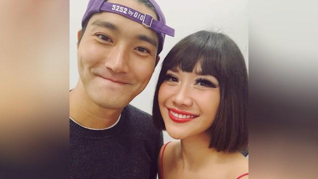Bunga Citra Lestari, BCL, Siwon 'Super Junior'