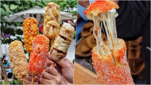 Resep Masakan Mozzarella Corn Dog Kekinian Ala Drama Korea