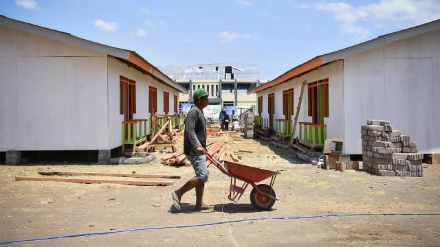 gempa bumi, lombok, rumah