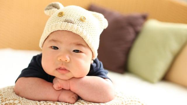 Ilustrasi Bayi Tengkurap