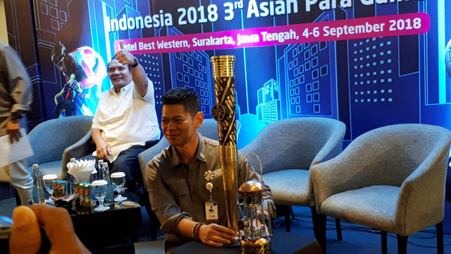 Ketua INAPGOC, Raja Sapta Oktohari, Asian Para Games 2018