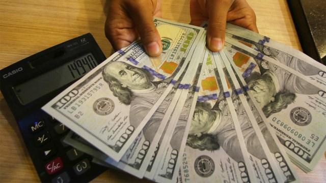 uang, dolar, AS