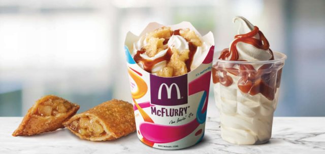 Apple Pie McFlurry