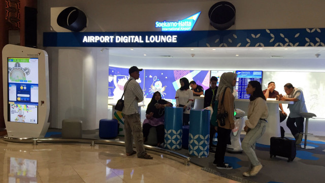 Airport Digital Lounge Bandara Soetta