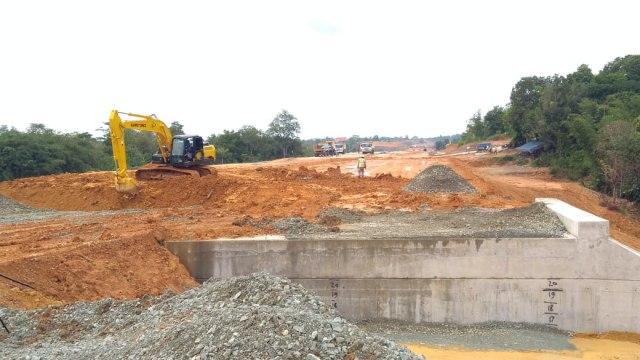 Pembangunan, Tol Balikpapan-Samarinda, Kalimantan Timur