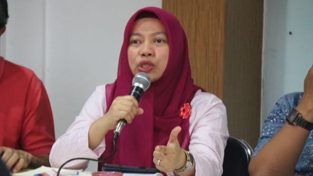 Direktur Eksekutif Perludem, Titi Anggraini, Diskusi Polemik Pencalonan Napi Korupsi, ICW