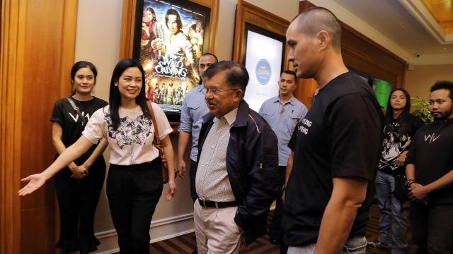 JK bersama Istri Habiskan Akhir Pekan dengan Nonton Film Wiro Sableng (281254)