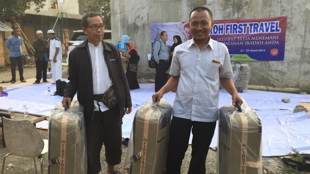 Calon Jemaah Umrah, First Travel, Koper Umrah