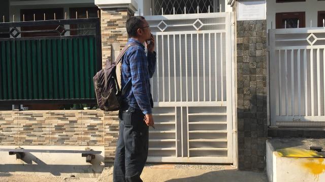 Ini Jalan Satu-satunya untuk Masuk ke Rumah Eko di Bandung