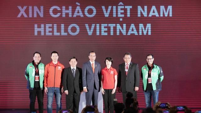 Peluncuran Go-Viet di Hanoi, Vietnam