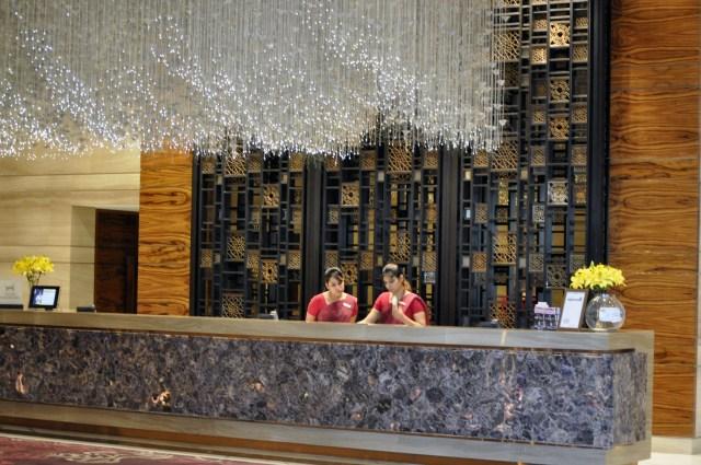 Ilustrasi Resepsionis Hotel