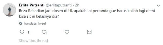 7 Tanggapan Lucu Netizen saat Reza Rahadian Jadi Dosen UI (555060)