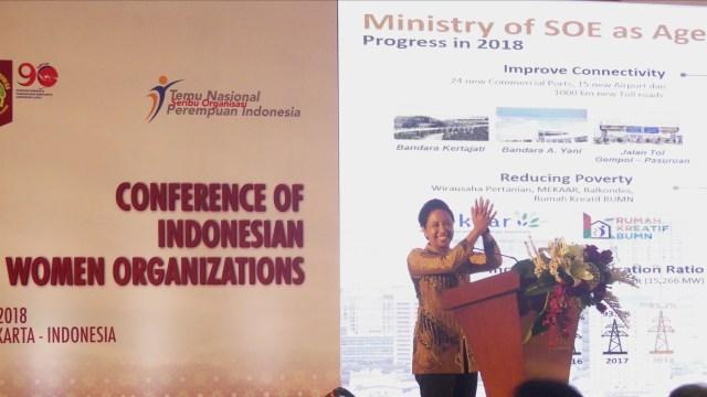 Rini Soemarno Buka Acara Temu Nasional Perempuan Indonesia di Yogya (75761)