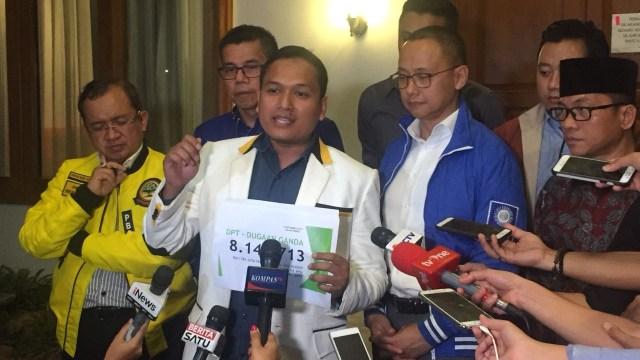 koalisi Prabowo-Sandi , DPT KPU